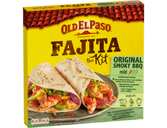 Fajita Kit Original Smoky BBQ Mild Card
