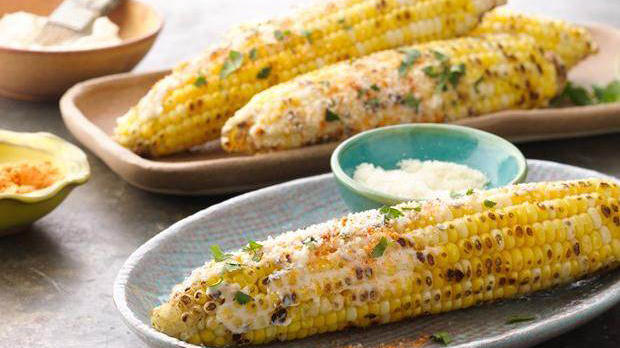 Grilled Elotes